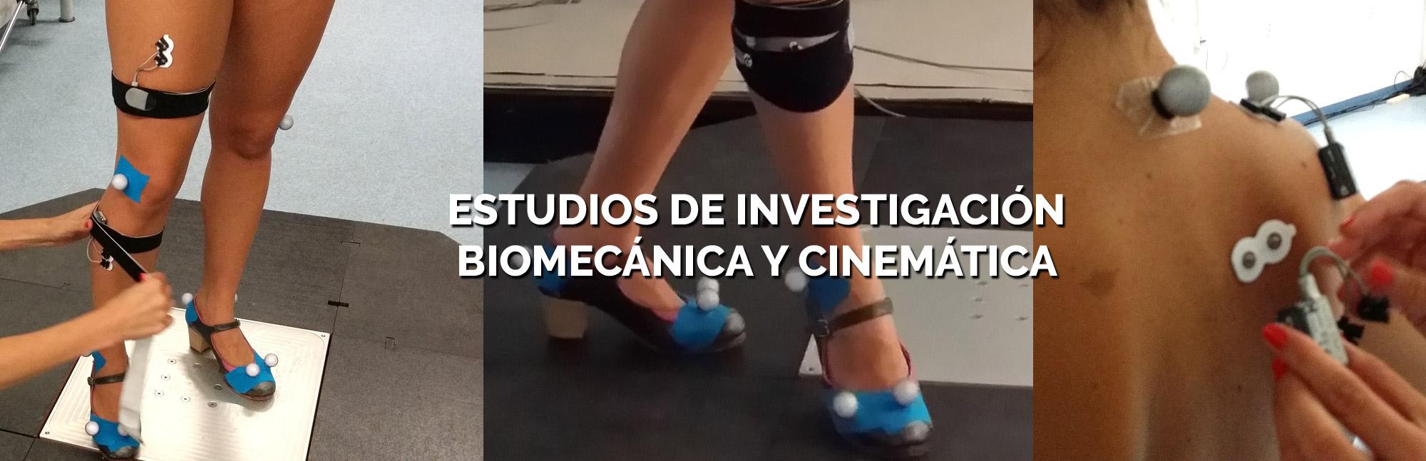 ESTUDIOS DE INVESTIGACION BIOMECANICA CINEMATICA