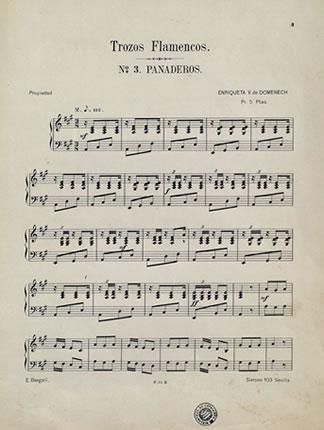 Partitura trozos flamencos