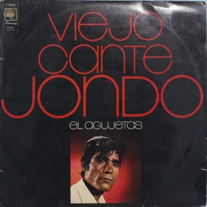 Viejo Cante Jondo Agujetas Portada