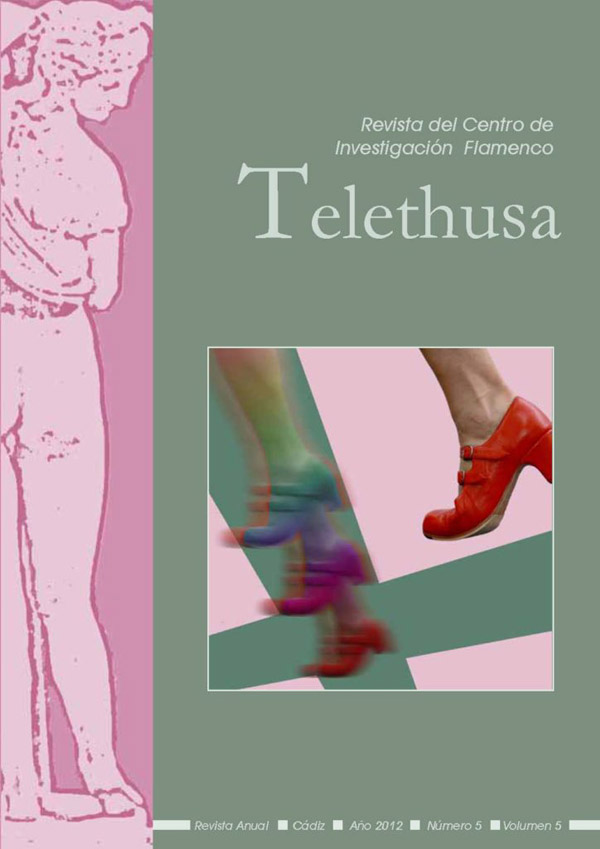 Portada Telethusa no 5 vol 5 2012