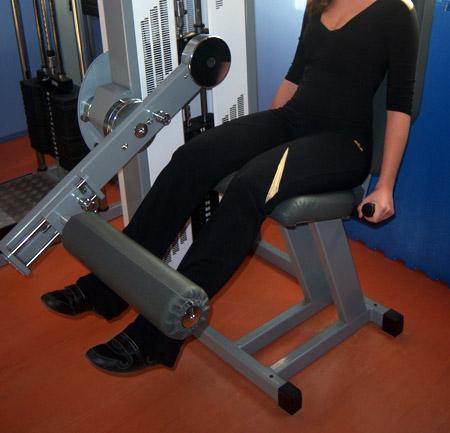 Maquina de pesas para piernas levantamiento